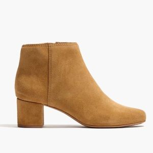 Madewell Lucien Suede Boot